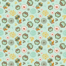 Whimsical Owl Pattern