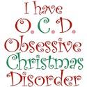 Obsessive christmas disorder Long Sleeve T Shirts