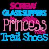 Princess wears Trail Shoes Hoodie