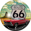 1965 Pontiac GTO - Route 66 - Clock Design Coffee Mugs
