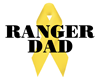 Ranger Dad Ribbon Organic Cotton Tee