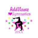 Gymnastics Round Ornaments
