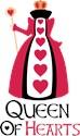 Queen of hearts Ladies Mini Wallets