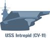 USS Intrepid Hoody