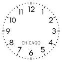 Chicago newsroom Modern Clocks