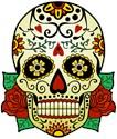 Skull Zip Hoodie (dark)
