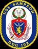 DDG 102 USS Sampson