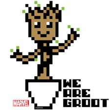 We Are Groot 8-Bit