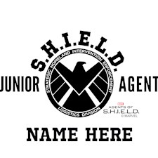 3269_Personalized Junior SHIELD Agent