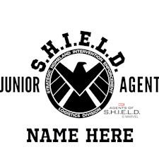 3269_Personalized Junior SHIELD Agent