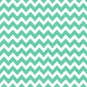 "Zig zags teal and white Laptop Sleeves (17"")"