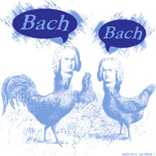 Chicken Bach Bach Blue