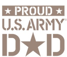 proud u.s. army dad