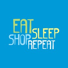 Eat Sleep Shop Repeat