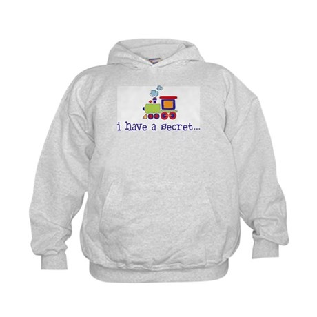 big brother secret train front/back Kids Hoodie