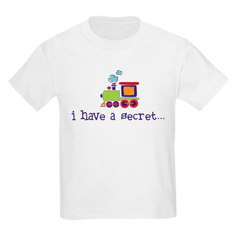 big brother secret train front/back Kids T-Shirt