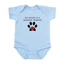Border Terrier Sister Body Suit