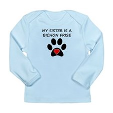 Bichon Frise Sister Long Sleeve T-Shirt