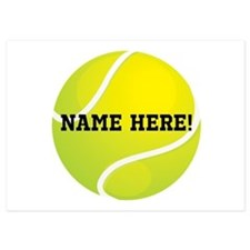 Personalized Tennis Birthday/ Party Invitations