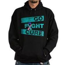 Thyroid Cancer Go Fight Cure Hoodie