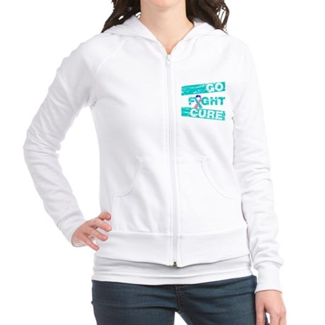 Thyroid Cancer Go Fight Cure Jr. Hoodie