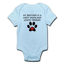 West Highland White Terrier Brother Body Suit