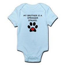 Springer Spaniel Brother Body Suit