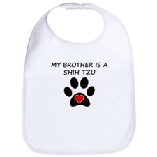 Shih Tzu Brother Bib