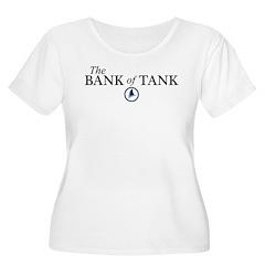 The Bank of Tank Women's Plus Size Scoop Neck T-Sh