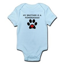 Pomeranian Brother Body Suit