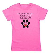 Rhodesian Ridgeback Brother Girl's Tee