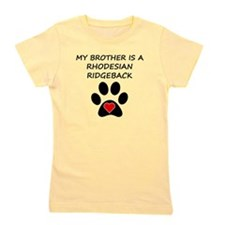 Rhodesian Ridgeback Brother Girl's Tee