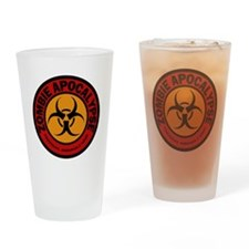 ZOMBIE APOCALYPSE Tactical Assault  Drinking Glass