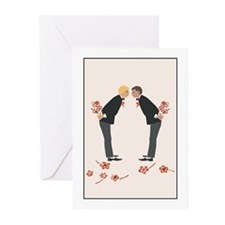 """Gay Wedding/Marry Me?"" Greeting Cards (Package of"