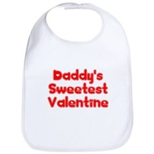 Unique New dad valentines Bib