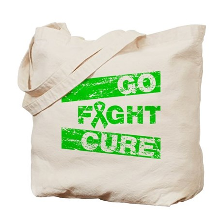 Spinal Cord Injury Go Fight Cure Tote Bag
