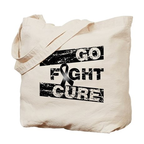 Skin Cancer Go Fight Cure Tote Bag