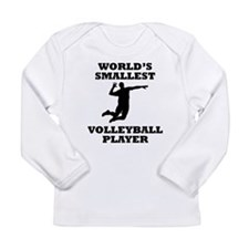 Worlds Smallest Volleyball Player Long Sleeve T-Sh