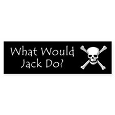 What Would Jack Do? Bumper Bumper Sticker