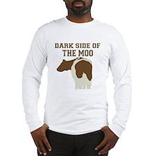 Dark Side Of The Moo Long Sleeve T-Shirt