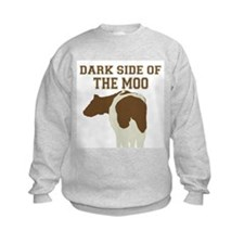Dark Side Of The Moo Sweatshirt