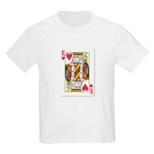 King of Hearts Kids T-Shirt