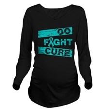 Scleroderma Go Fight Cure Long Sleeve Maternity T-