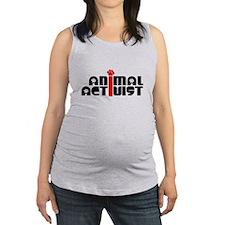Animal Activist Maternity Tank Top