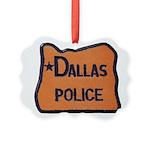 Dallas Oregon Police Ornament