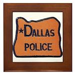 Dallas Oregon Police Framed Tile