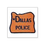 Dallas Oregon Police Sticker