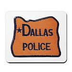 Dallas Oregon Police Mousepad