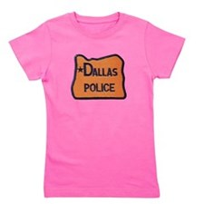 Dallas Oregon Police Girl's Tee