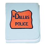 Dallas Oregon Police baby blanket